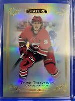 2019-20 Upper Deck Stature #74 Teuvo Teravainen Carolina Hurricanes
