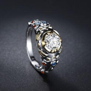 Zelda Link Sheikah Slate Hylian Crest 925 Sterling Silver Engagement Ring