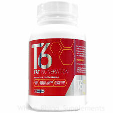 T6 Fat Burner Slimming Pills Diet Weight Loss Tablets 60 caps weight management