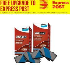 Bendix 4x4 Front and Rear Brake Pad Set DB1323-DB12004WD SUV