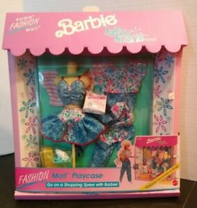 NRFB Barbie Fashion Mall Playcase Jazzy Jeans Shop Store 1991 3109 Clothes shoes