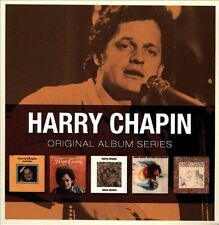 Original Album Series [Box] by Harry Chapin (CD, Mar-2010, 5 Discs, Warner Bros.)