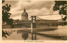 TOULOUSE le pont suspendu