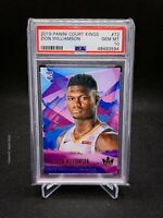 2019 Panini Court Kings 72 Zion Williamson Level 1 PSA 10! ROOKIE CARD!!