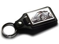 Koolart Cartoon Car Mini Cooper S Leather and Chrome Keyring