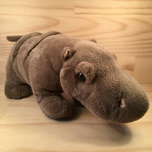 """GRUMBLES THE HIPPO """"Brown"""" Gorgeous Little Safari Animal Cuddly Soft Toy Friend"""