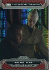 Star Wars Chrome Perspectives II Prism Parallel Base Card 25-S Jocasta Nu