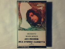 DEODATO Whirlwinds mc cassette k7 ITALY GLENN MILLER COME NUOVO LIKE NEW!!!