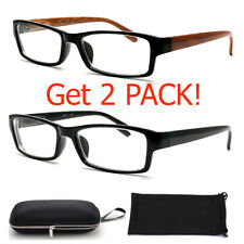 Nearsighted Shortsighted Distance Myopia Glasses for Womens Mens Minus Hard Case
