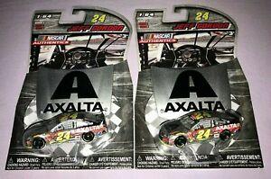 2x NASCAR AUTHENTICS JEFF GORDON #24 AXALTA **NEW**