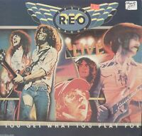 Reo Speedwagon Live You Get What You Play For Vinyl LP Record Album Set
