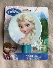 Disney Frozen Princess Elsa Bedroom Night Light Shade New Sealed Kid's Lamp