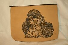 Cocker Spaniel Dog zipper accessory Bag Xmas Gift Birthday Gift