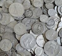 $1 Face Value 90% Silver US Coins ++ Half Dollars Quarters & Dimes