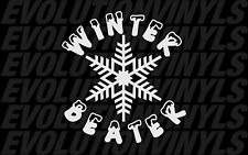Winter Beater V2 Sticker Decal JDM Stance Drift Illest Hoonigan AWD Subaru EURO