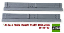 1/35 Pacific Sherman Wood Bogie Plank Armor M4A3 Set #B2 - Value Gear SB436