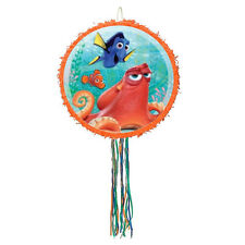 Disney Finding Dory Pinata Birthday Party Pull String Orange Nemo Round Pinyata