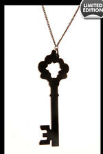 SWEDISH HOUSE MAFIA MASQUERADE MOTEL BLACK PLASTIC KEY NECKLACE by TATTY DEVINE