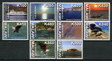 Malawi 2014 MNH Lake Malawi 10v Set Tourism Landscapes Ships Eagles Birds Stamps