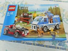 LEGO CITY - SET 4441 - [ LA BRIGADE CANINE ] - 304 PIECES - 2 FIGURINES