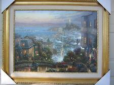 Thomas Kinkade Artist Proof  SAN FRANCISCO, LOMBARD canvas  new
