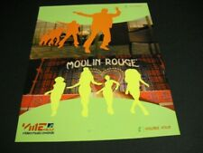 Video Music Awards 2-sided 2001 Promo Poster Ad swagger - voulez vous - freaky