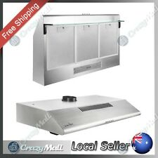 5 Star Chef Stainless Steel Rangehood RangeKihood 900mm Kitchen Canopy 90cm