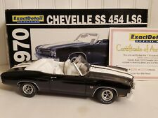 Lane Exact Detail 1970 Chevy Chevelle SS 454 LS6 1:18 Scale Diecast Car 602A