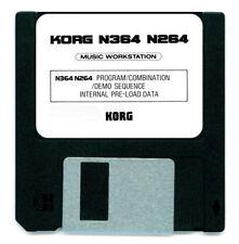 Korg N364 N264 Factory Sound Card Disk Diskette N 364 264