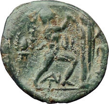 Antigonos II Gonatas Macedon King  Ancient Greek Coin Nude PAN Athena i30536