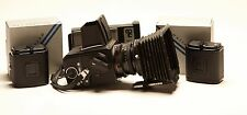 Hasselblad Camera 2000 FC/M+ lens + 3 Backs + NPC Pol back +