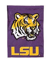 Louisiana State Univ. Tigers Decorative Flag NCAA Licensed College Football