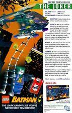 Lego Batman: The Dark Knight, Joker & The Joker Copter #7782: Great Print Ad!