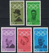 561 - 565** BRD 1968, Olymp.Spiele Mexico-City