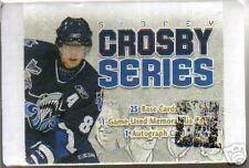 New 2006 ITG Sidney Crosby Autograph Hockey Card Set