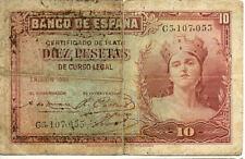 ESPAGNE SPAIN ESPANA 10 Pts 1935 état voir scan 053