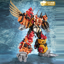 NEW Jinbao Transformation Predaking Oversized 5 in1 Divebomb Headstrong Figure
