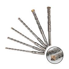"6"" Drill Bit Crosshead Rotary Hammer Round Shank for Brick Concrete Masonry 6Pcs"