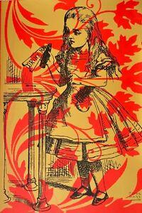 Peter Mars Art, large Alice in Wonderland Drink Me Lewis Carroll Magic Potions
