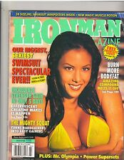 IRONMAN bodybuilding magazine/SWIMSUIT Issue/Linda O'Neil Winter 1999