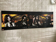 Led Zeppelin How The West Was Won Rare Bravado Limited Poster 36 X 11.75