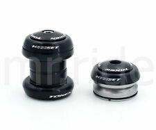 "mr-ride Token Headset 1-1/8"" 34mm tube,Threadless/Integrated, (w/ top cap) Black"
