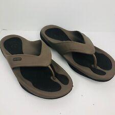Crocs  Flip Flops Smoke SIZE 13 M Men's shoes water beach