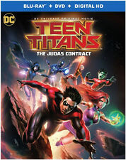 TEEN TITANS: THE JUDAS CONTRACT - BLU RAY - Region free