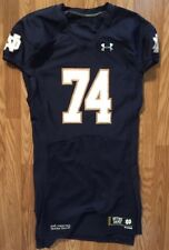 Notre Dame Football 2014 Under Armour Team Issued Home Jersey #74