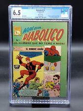 Diabolico #1 - CGC 6.5 - Daredevil #1 Mexican 1966 La Prensa Edition