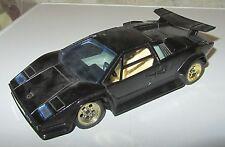 Modellino Majorette Lamborghini Countach Nera Black 1:24 SPESE GRATIS