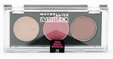 MAYBELLINE EYESTUDIO TRIO *UNSEALED* Eyeshadow *15 ROSE REVOLUTION*