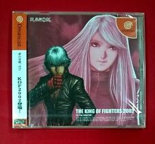 Kof the King of Fighters 2002 2k2 Sega Dreamcast japones Spine Card SNK Playmore