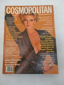 COSMOPOLITAN MAGAZINE NOVEMBER 1983 LEA BROOKE SHIELDS NO LABEL VINTAGE WOMEN